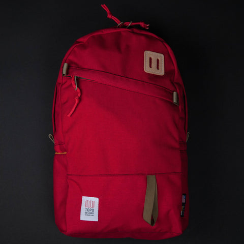 Topo Designs Red Daypack at The Lodge