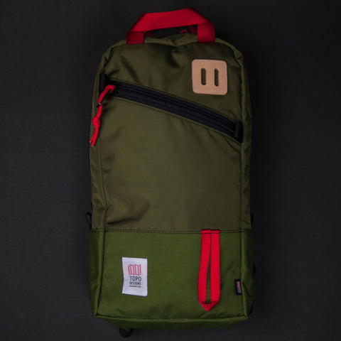 Topo Designs Olive Trip Pack at The Lodge