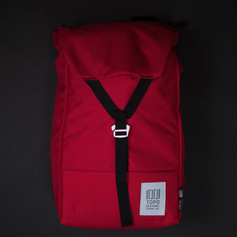 Topo Designs Red Y-Pack at The Lodge