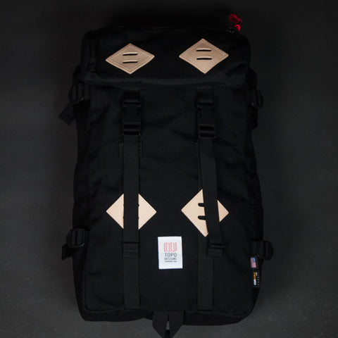 Topo Designs Klettersack Black at The Lodge