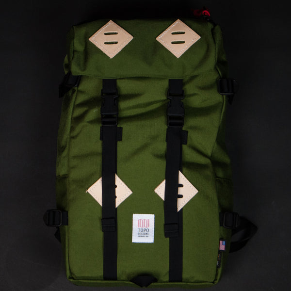TOPO OLIVE KLETTERSACK BACKPACK - THE LODGE  - 1