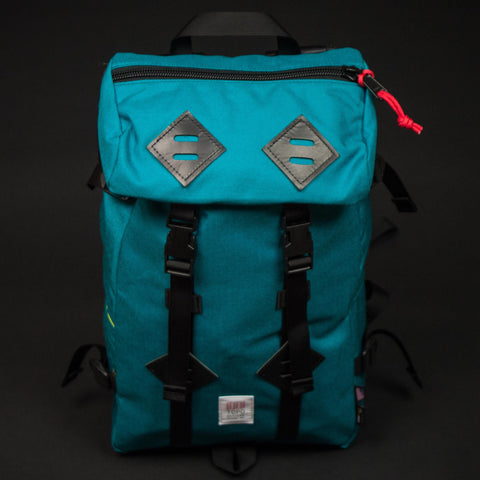 TOPO KLETTERSACK TURQUOISE BACKPACK - THE LODGE  - 1