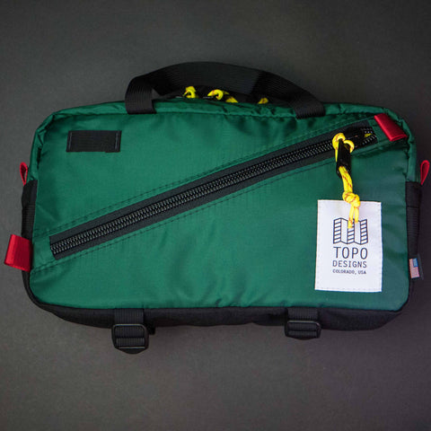 Topo Designs Quick Pack Forest Green Waist Bag at The Lodge