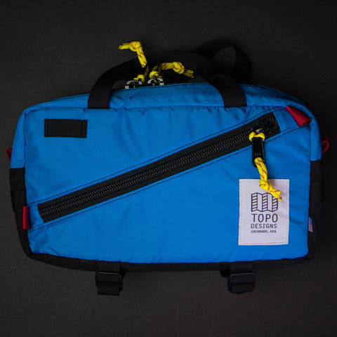 Topo Designs Royal QuickPack Waist Bag at The Lodge