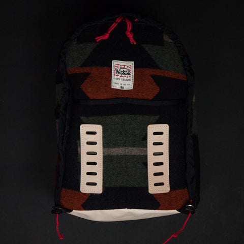Topo Designs x Woolrich Span Daypack Printed Wool at The Lodge