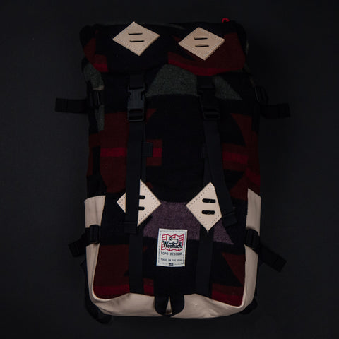 Topo Designs x Woolrich Printed Wool Klettersack at The Lodge