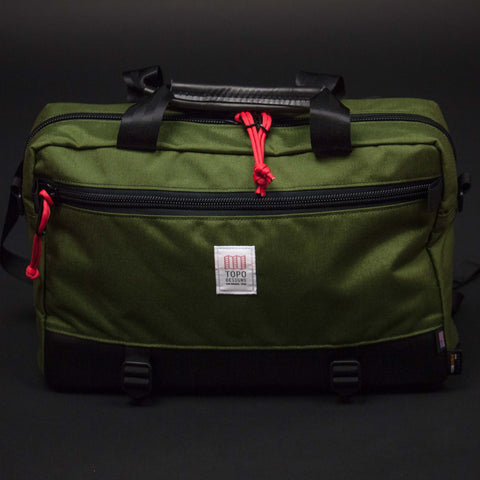 Topo Designs Olive Commuter Briefcase at The Lodge