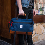 TOPO OLIVE COMMUTER BRIEFCASE W/ BLACK LEATHER