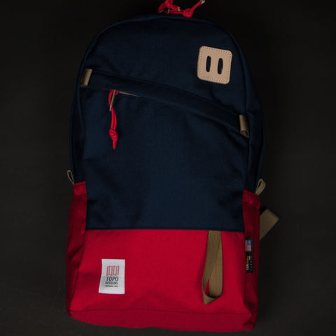 TOPO NAVY/RED DAYPACK - THE LODGE  - 1