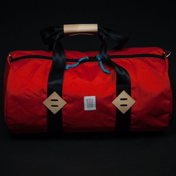 "TOPO DESIGNS 22"" DUFFEL ORANGE - THE LODGE  - 1"
