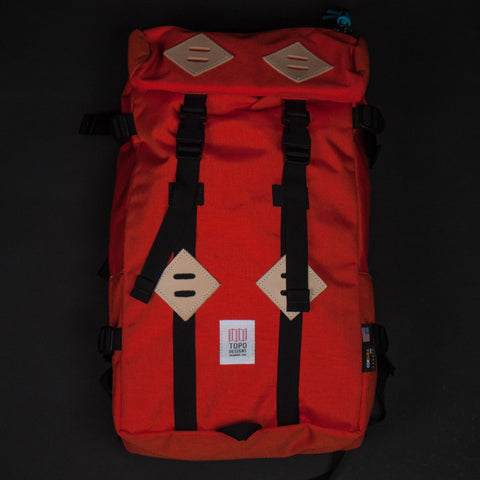 Topo Designs Klettersack Orange at The Lodge