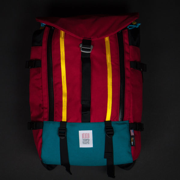 Topo Designs Red Mountain Pack at The Lodge