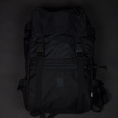 Topo Designs Rover Pack Ballistic Black at The Lodge
