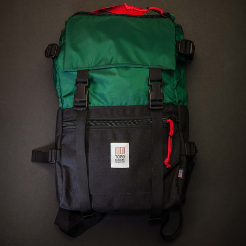 Topo Rover Pack Forest Green/Black at The Lodge