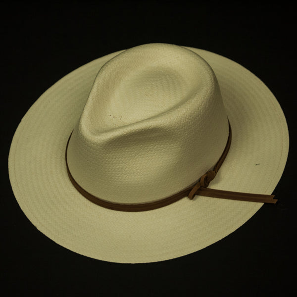 TOYO TRAVELER STRAW HAT NATURAL - THE LODGE  - 1