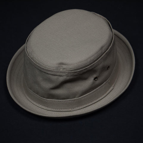 COTTON STINGY HAT KHAKI - THE LODGE  - 1