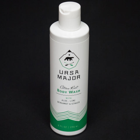 Ursa Major Citrus Riot Body Wash at The Lodge