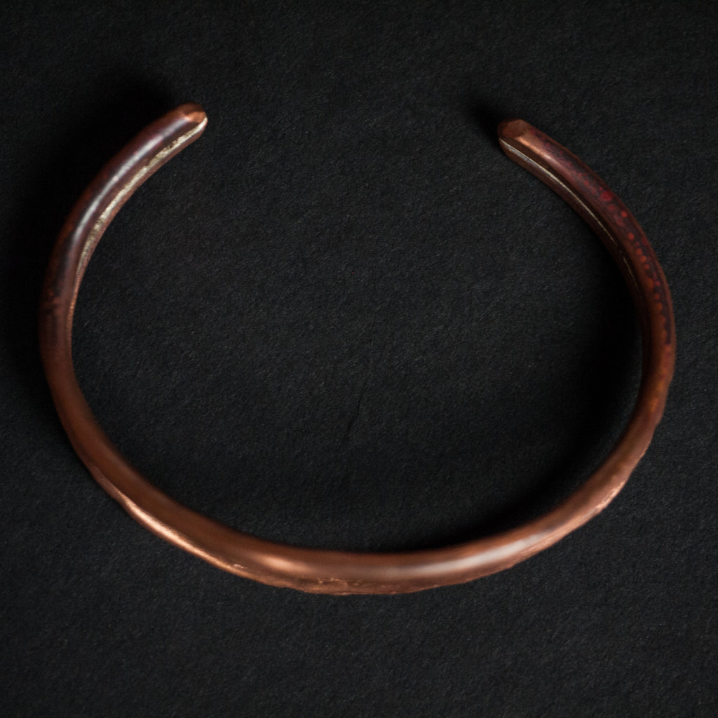 WHALES MOUTH ANTIQUED COPPER CUFF - THE LODGE  - 2