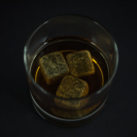 WHISKEY STONES SET OF NINE - THE LODGE  - 1