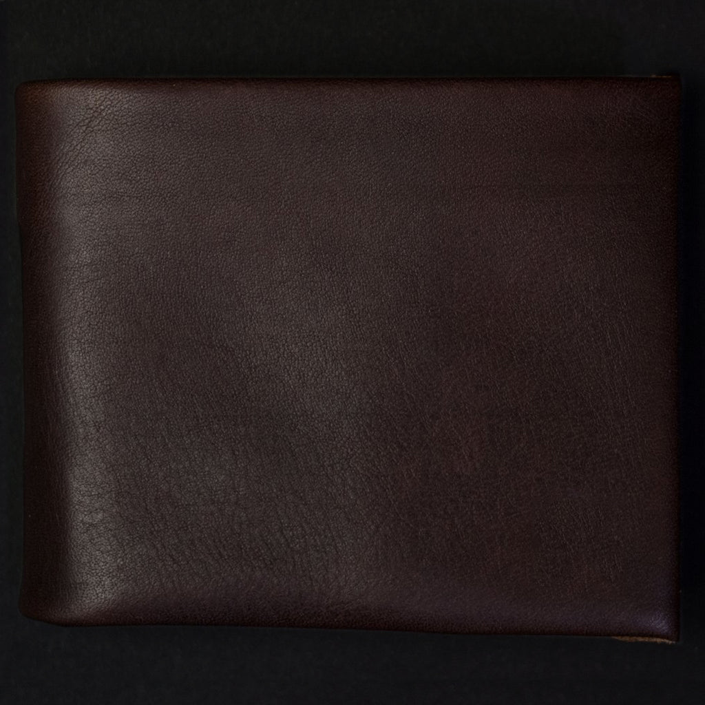 CHOCOLATE WILT 1862 SOFT LEATHER BILLFOLD WALLET