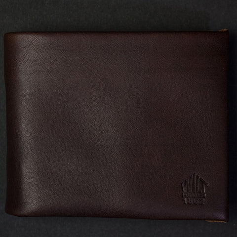 Wilt 1862 Chocolate Soft Leather Billfold Wallet at The Lodge