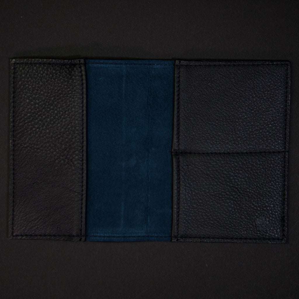 ASH BLACK WILT 1862 THOMAS PASSPORT WALLET