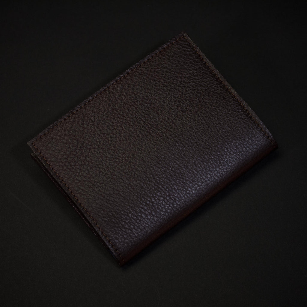 CHOCOLATE WILT 1862 THOMAS PASSPORT WALLET
