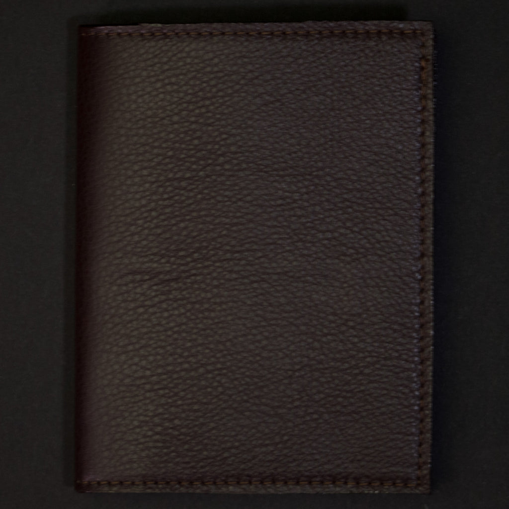 Wilt 1862 Thomas Leather Passport Wallet Chocolate at The Lodge