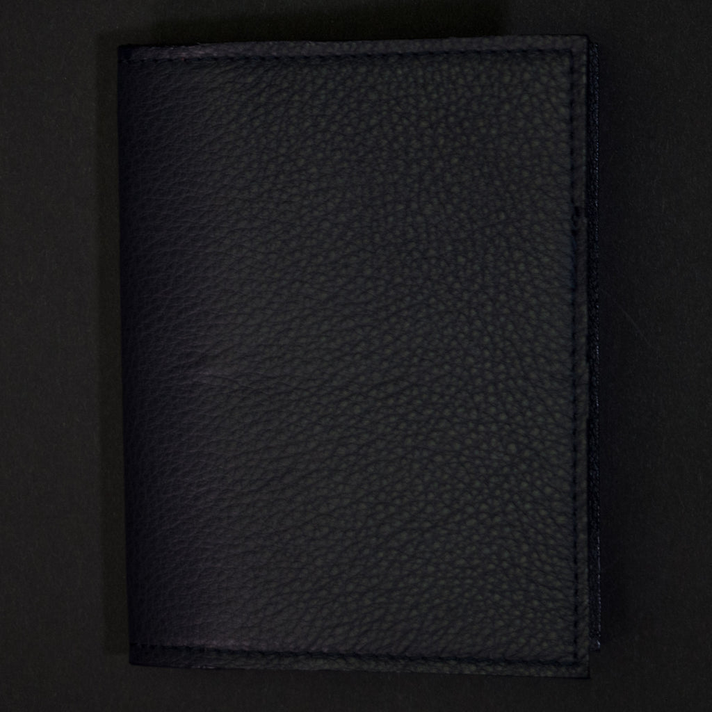 Wilt 1862 Thomas Passport Wallet Navy at The Lodge