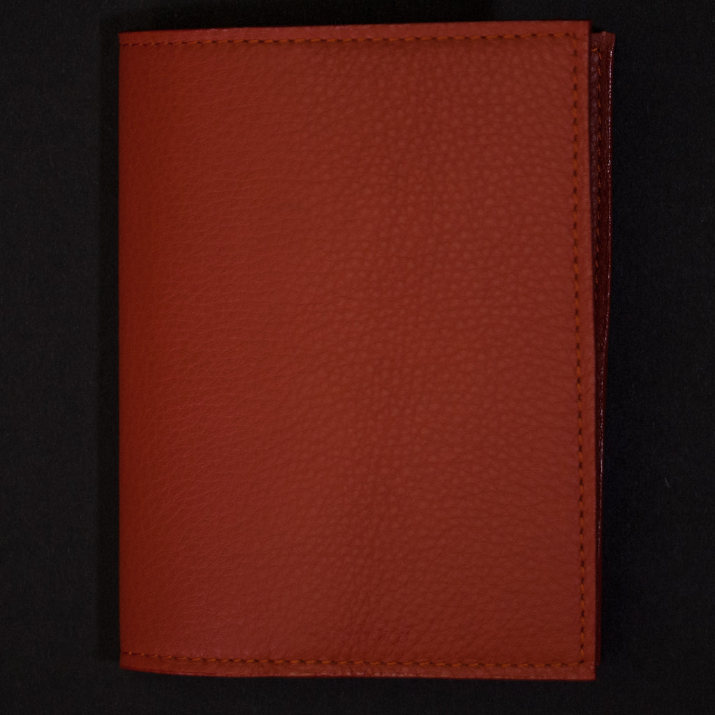 Wilt 1862 Thomas Leather Passport Wallet Autumn at The Lodge