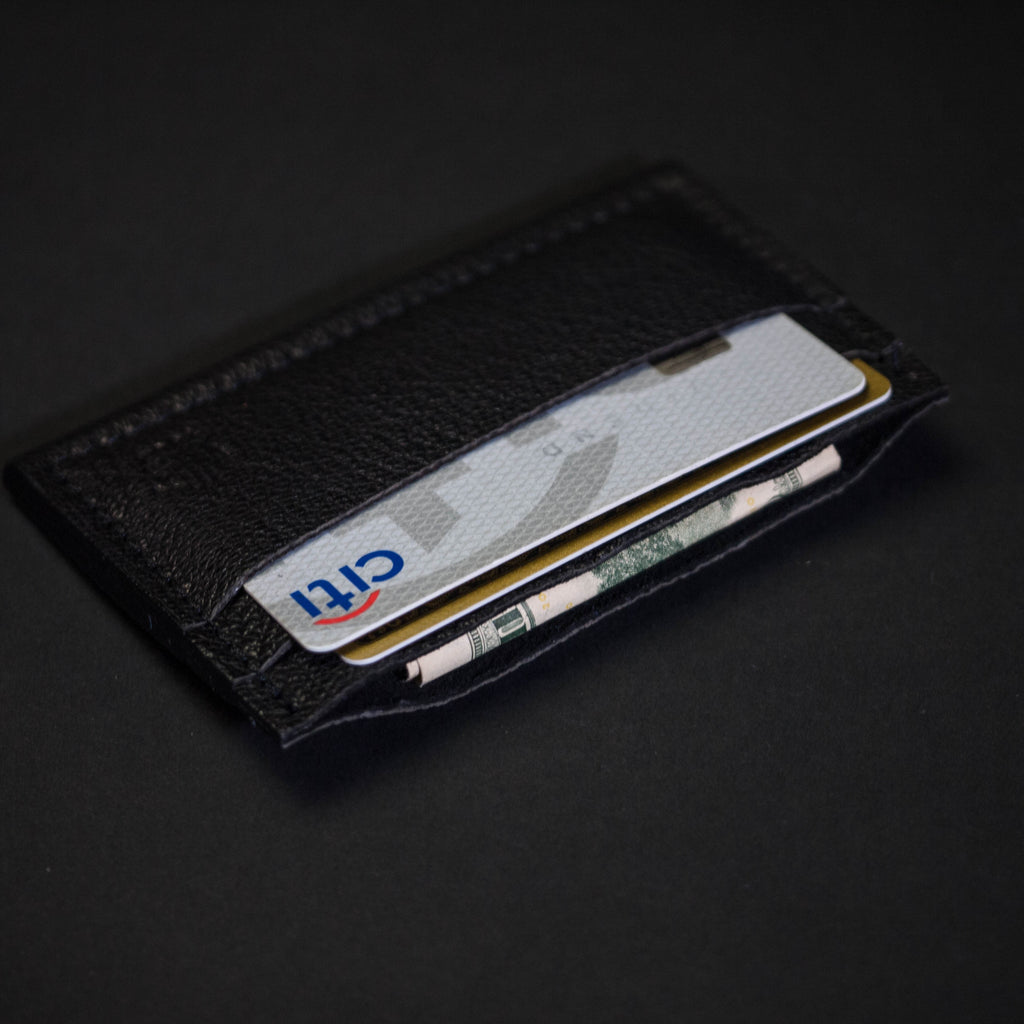 ASH DAVIS SLIM CARD LEATHER WALLET