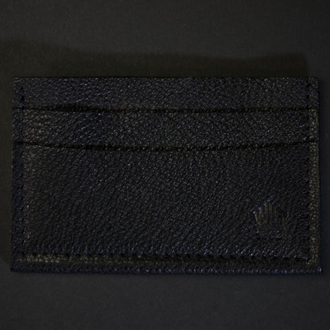 Wilt 1862 Davis Soft Leather Card Wallet Chocolate at The Lodge