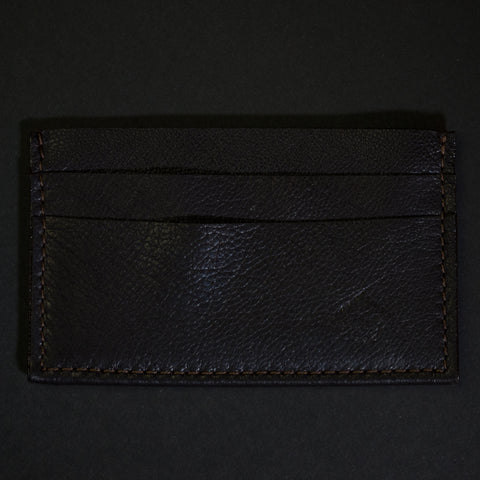 Wilt 1862 Chocolate Soft Leather Davis Card Wallet at The Lodge