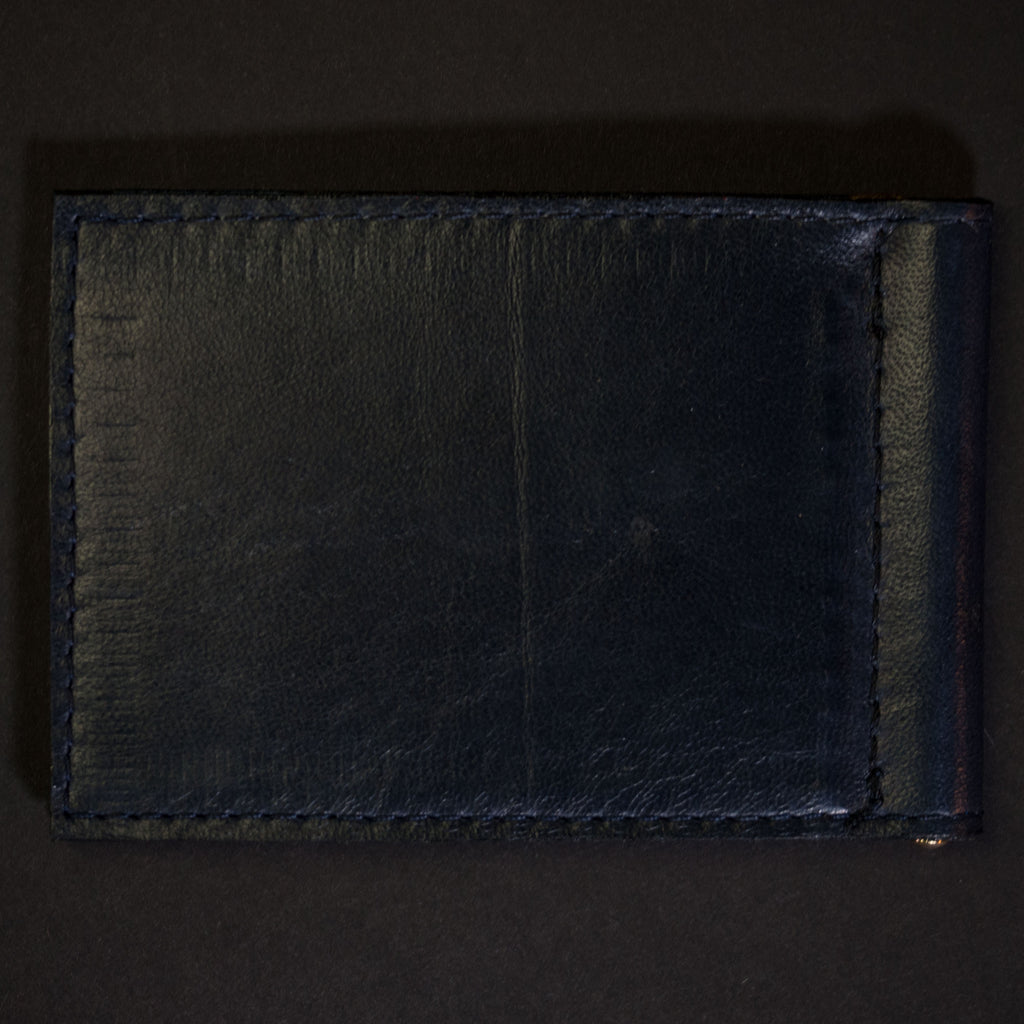 DEEP SEA WABASH MONEY CLIP LEATHER WALLET