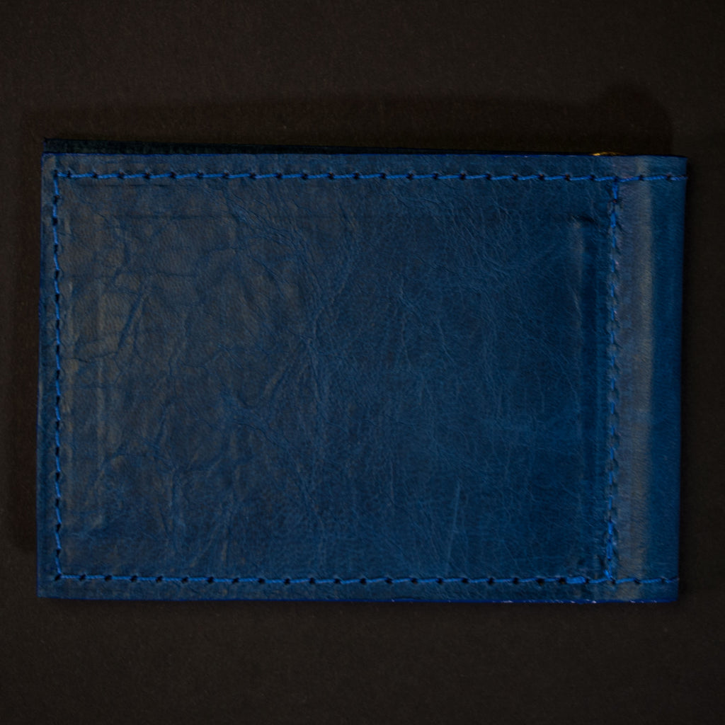OCEAN WABASH MONEY CLIP LEATHER WALLET