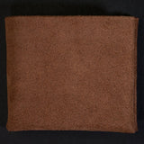 BOURBON SUEDE WILT 1862 SOFT LEATHER BILLFOLD WALLET