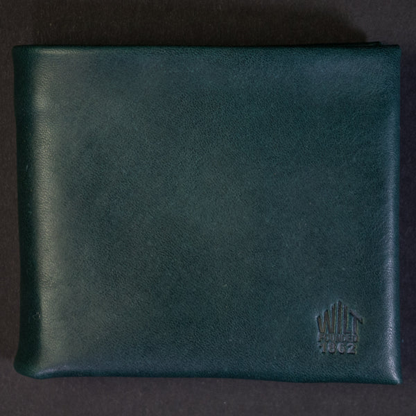 Wilt 1862 Lake View Green Soft Leather Billfold at The Lodge