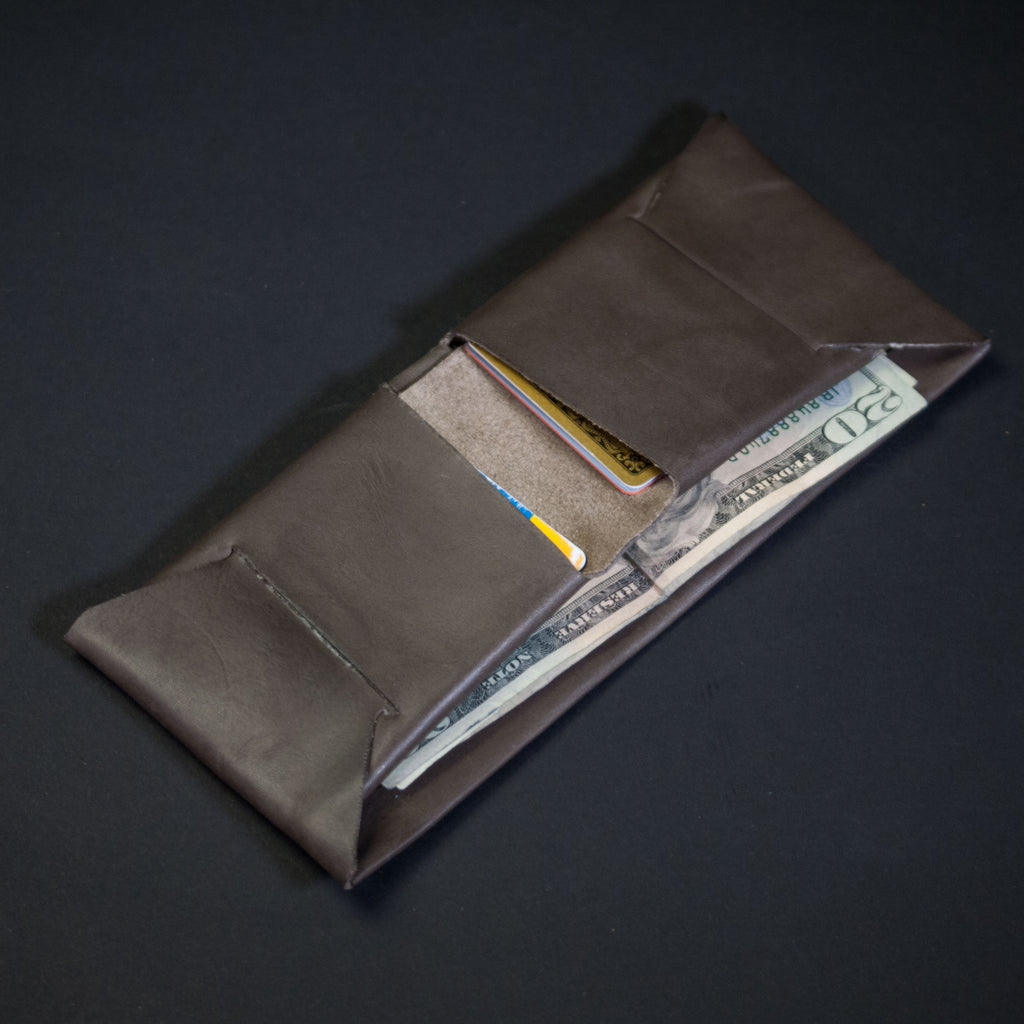 STEEL GREY WILT 1862 SOFT LEATHER BILLFOLD WALLET