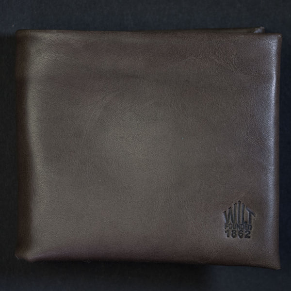 Wilt 1862 Steel Grey Soft Leather Billfold at The Lodge