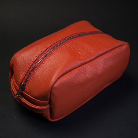 AUTUMN WILT LEATHER PEARY TRAVEL KIT