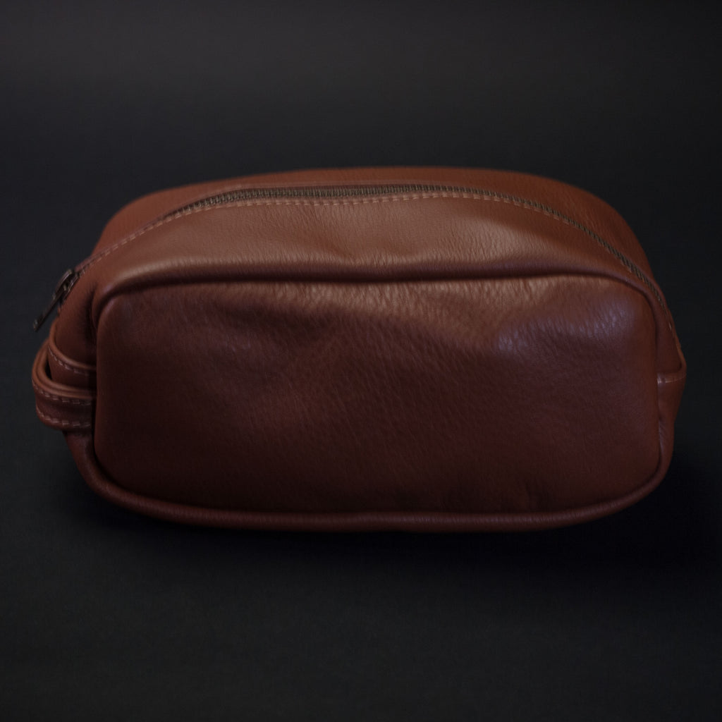 WHISKEY WILT LEATHER PEARY TRAVEL KIT
