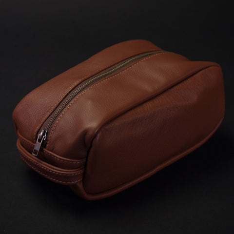 Wilt 1862 Whiskey Leather Dopp Kit at The Lodge