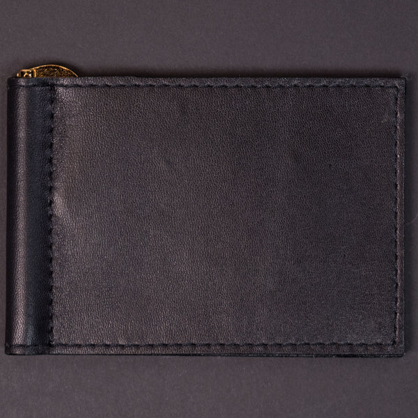 Wilt 1862 Black Wabash Leather Wallet at The Lodge