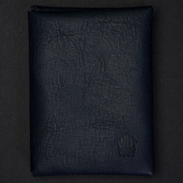 Wilt 1862 Bucktown Card Wallet Navy at The Lodge