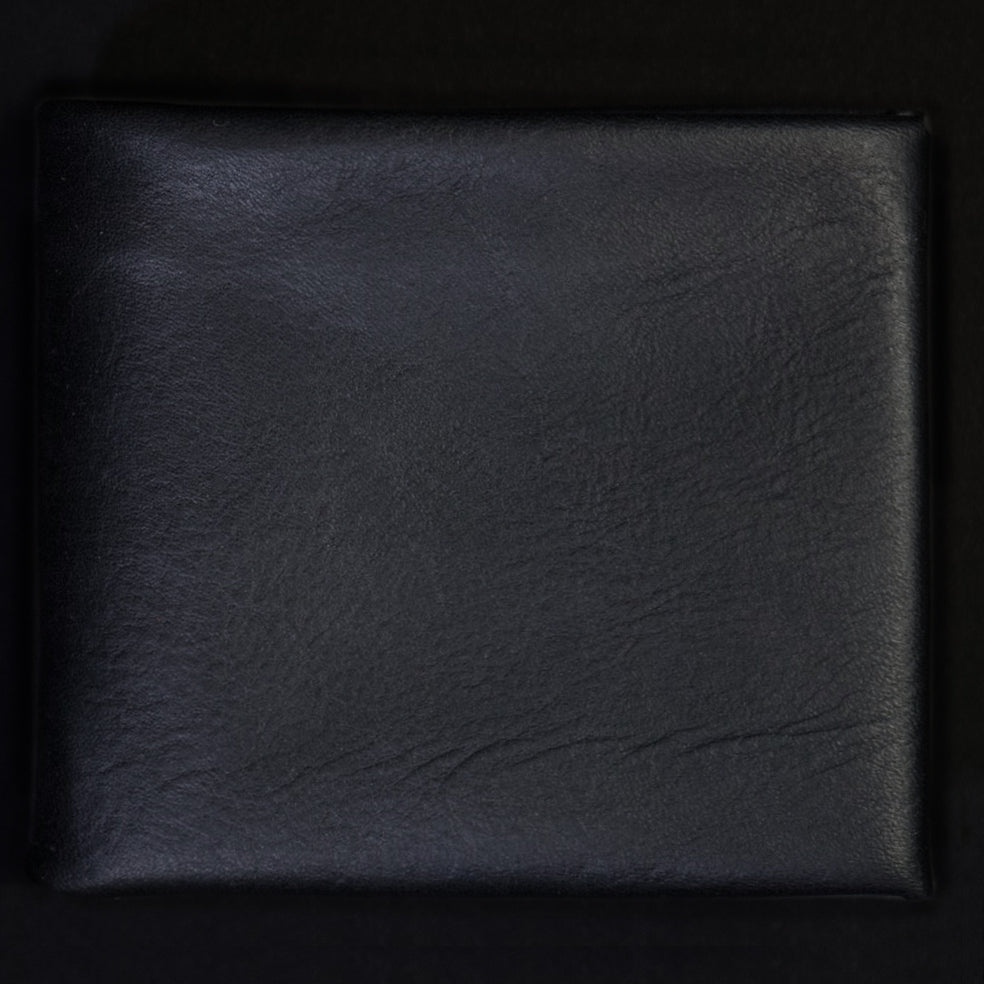 BLACK WILT 1862 SOFT LEATHER BILLFOLD WALLET