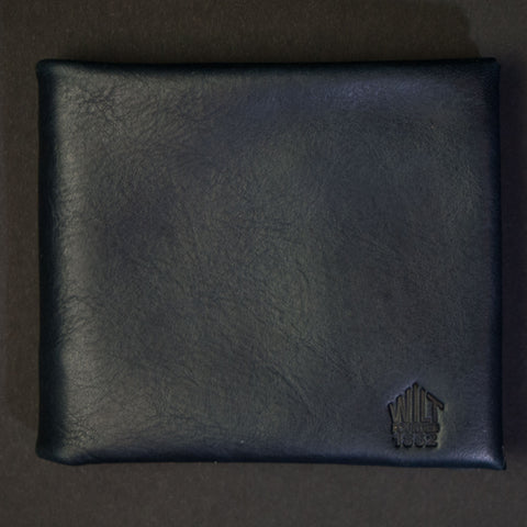 INDIGO WILT 1862 SOFT LEATHER BILLFOLD WALLET