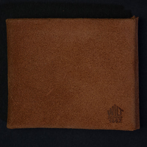 Wilt 1862 Single Malt Suede Billfold Wallet at The Lodge