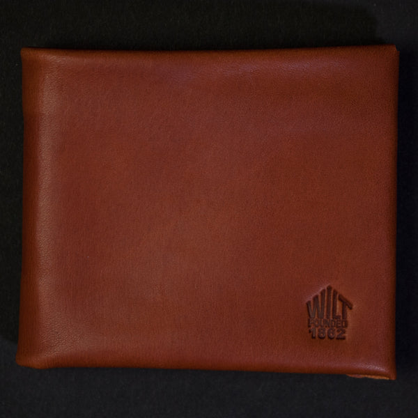 Wilt 1862 Whiskey Leather Billfold Wallet at The Lodge