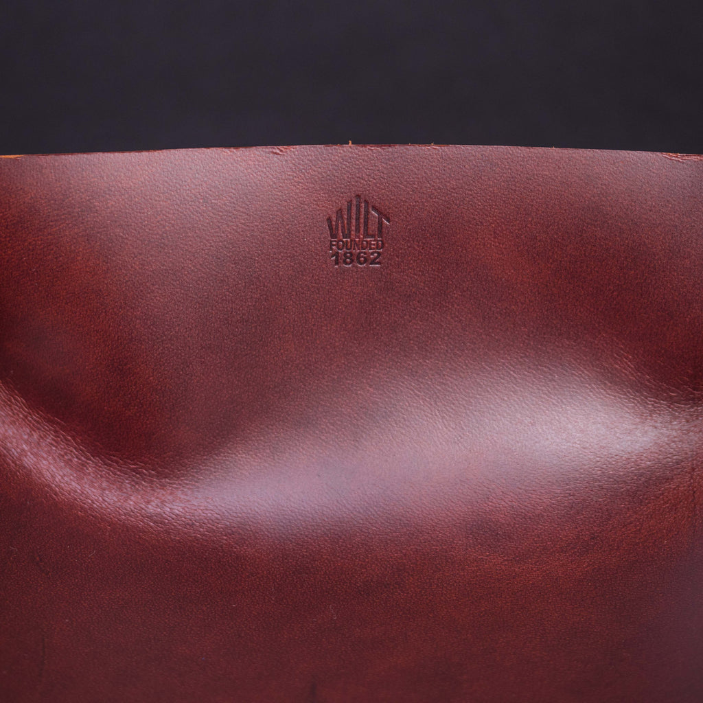 WILT LARGE RUSSET MANTRAY™ VALET TRAY HORWEEN LEATHER