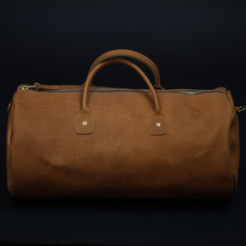 LARGE BASEBALL MITT LEATHER DUFFEL